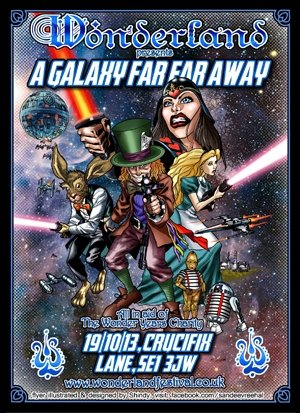 IT TAKES 2 TO TANGO - WONDERLAND (A GALAXY FAR FAR AWAY) 19th Oct 2013