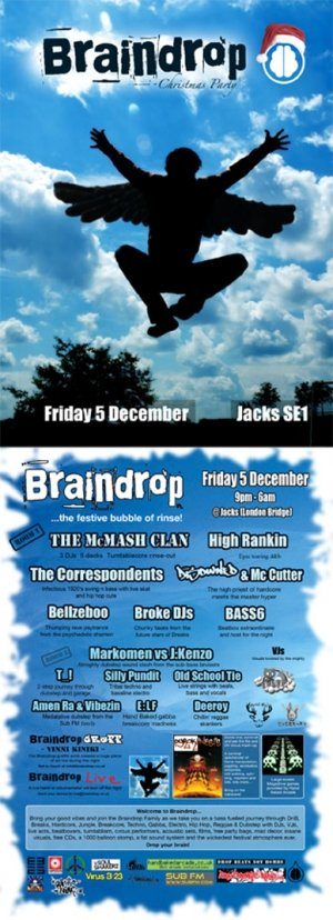HIGH RANKIN - BRAINDROP 5th December 08'